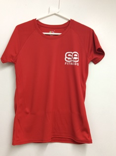 SE Fitness Red T Shirt